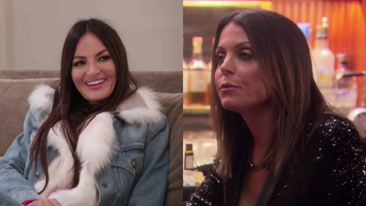 Lisa Barlow and Bethenny Frankel have met and have nothing but kind words for each other.