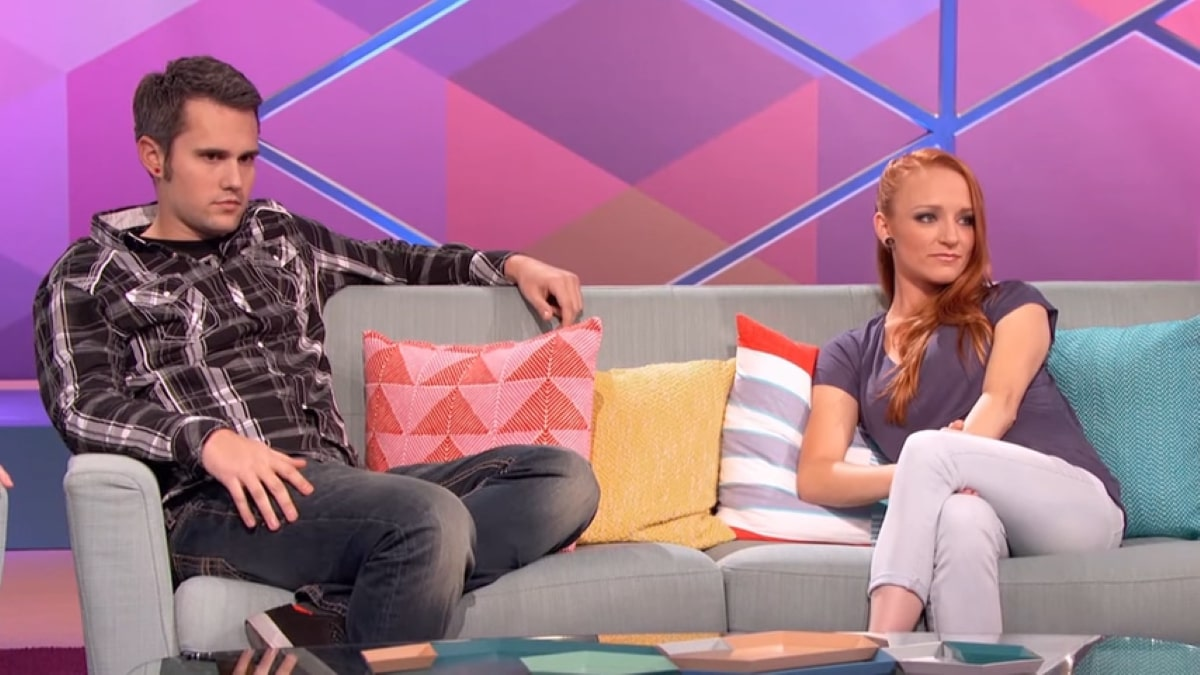 Teen Mom stars Maci Bookout and Ryan Edwards.