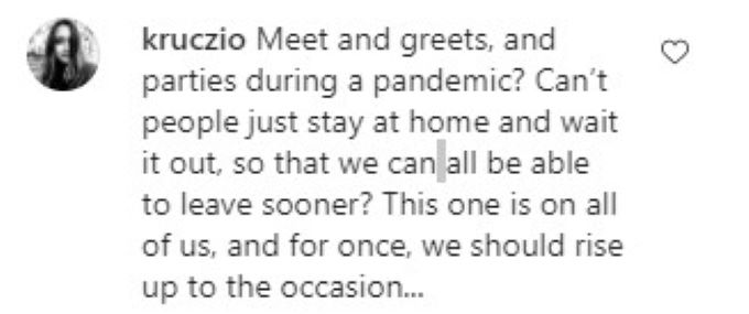 Comment on Big Ed's meet and greet post.