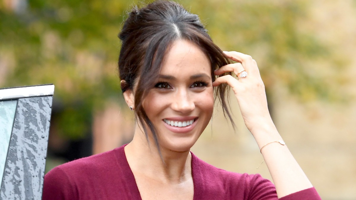 Meghan Markle attending an official event