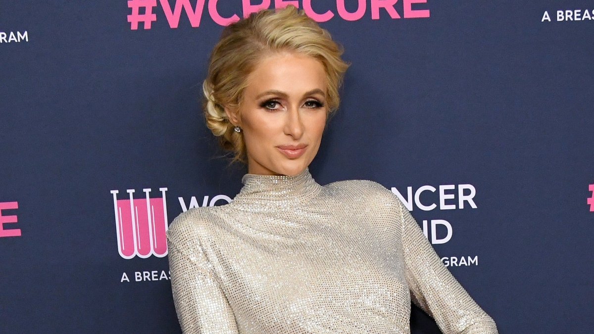 Paris Hilton is engaged