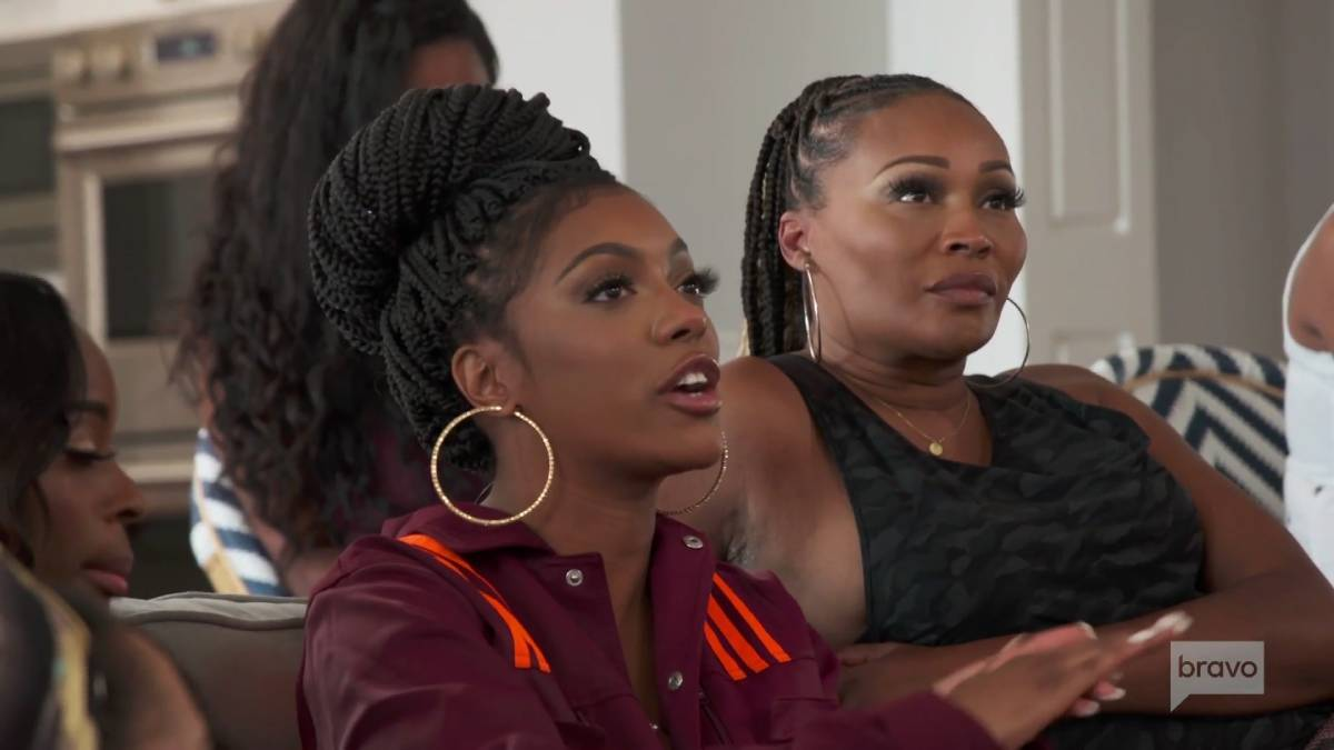 The RHOA cast watches the Breonna Taylor verdict.