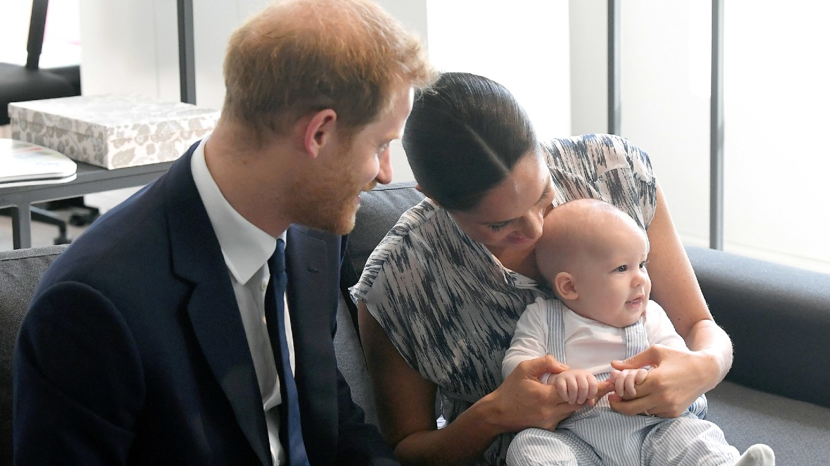 Harry, Meghan, and Archie attend an event in South Africa