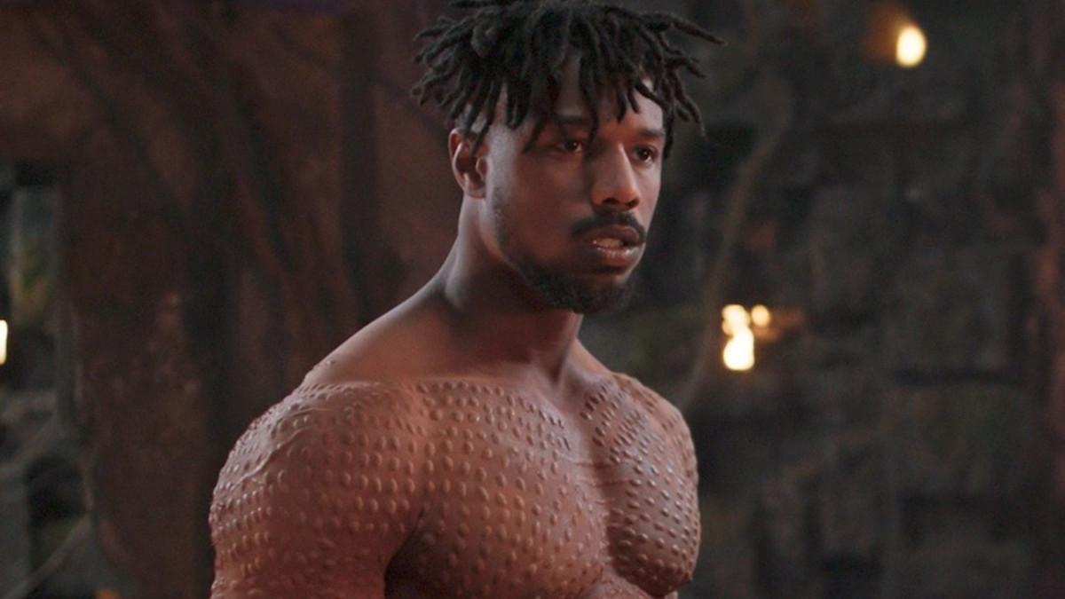 Rege-Jean Page as Black Panther Michael B. Jordan.