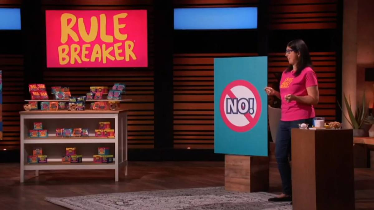 Rulebreaker Snacks will be featured on Shark Tank.