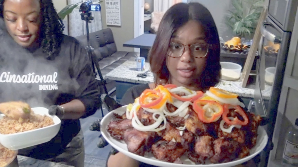 On Married at First Sight Couples Cam, Shawniece and Jephte learn to make Haitian food
