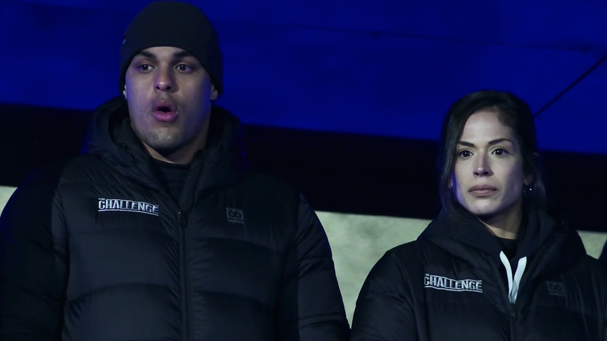 josh martinez and nany gonzalez on the challenge double agents episode 11