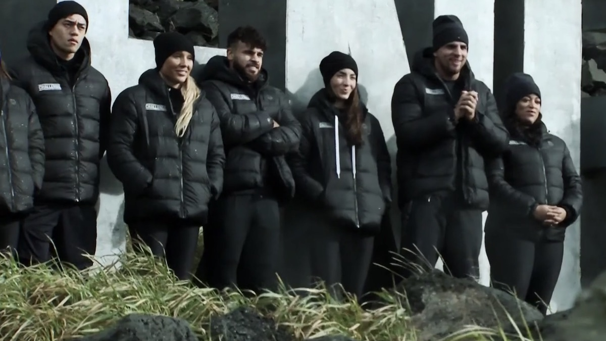 competitors await tj lavin mission details on the challenge double agents episode 9