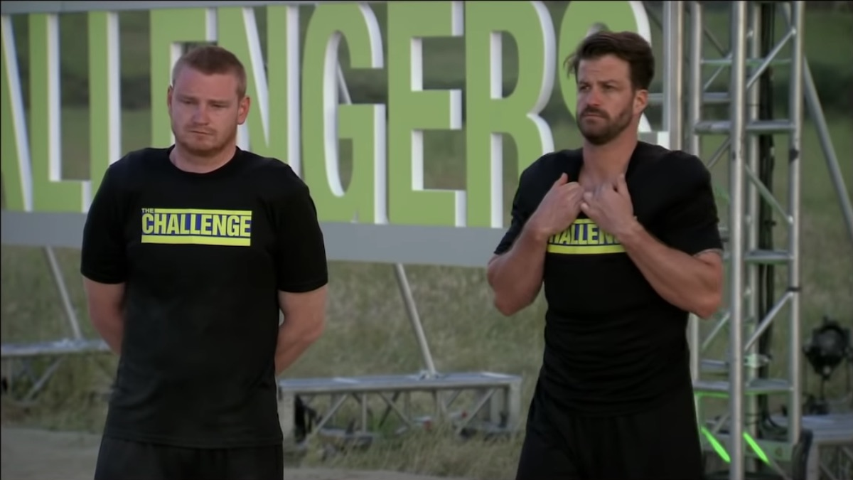 the challenge stars wes bergmann and johnny bananas at elimination event