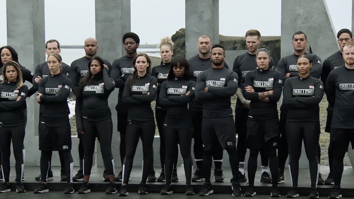 cast members of the challenge double agents in episode 1