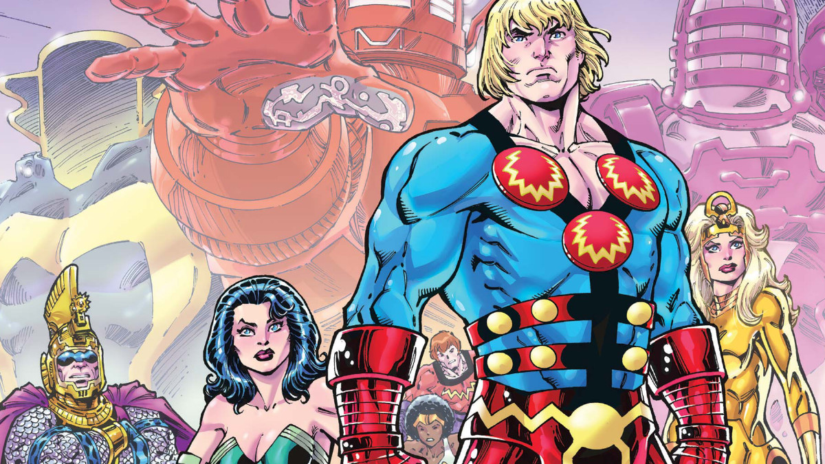 The Revenant inspired The Eternals Marvel.