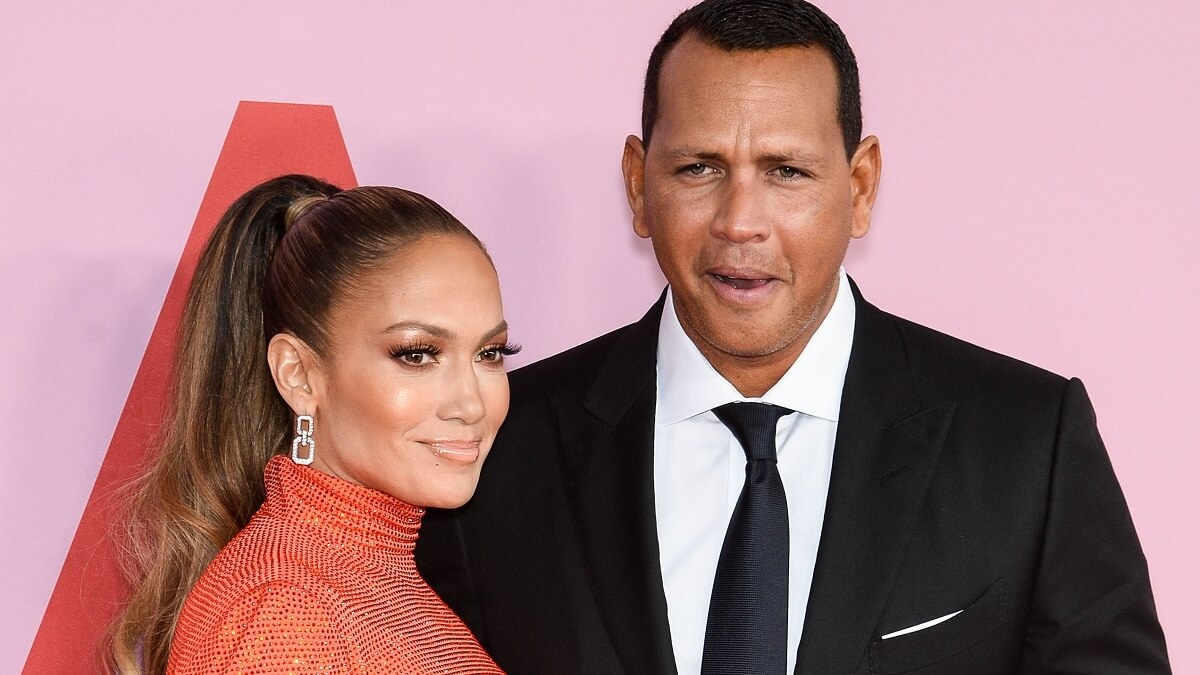 Jennifer Lopez and Alex Rodriguez