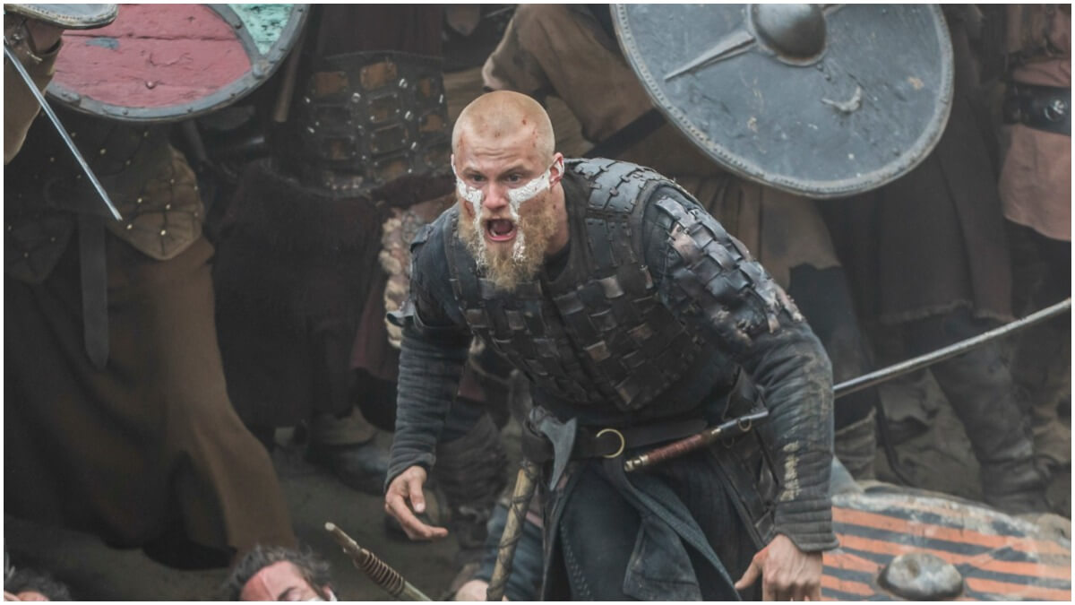 Alexander Ludwig stars as Bjorn Ironside, as seen in Season 6 of History Channels' Vikings
