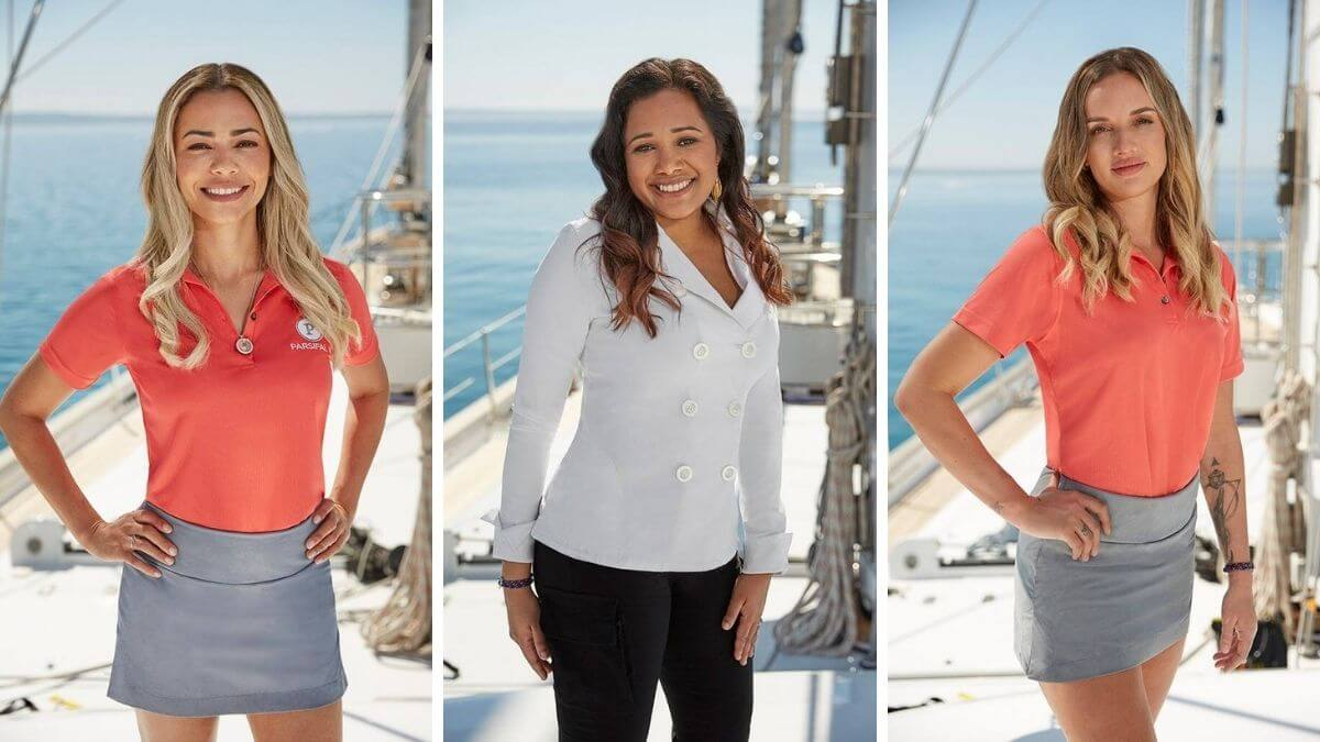 Dani Soares, Alli Dore and Natasha De Bourg talk Below Deck Sailing Yacht Season 2.