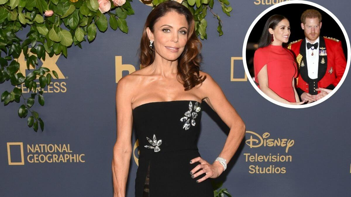 Bethenny Frankel walks backs comments about Meghan Markle .
