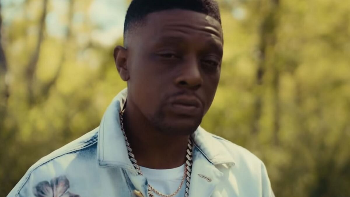 Rapper Boosie Badazz
