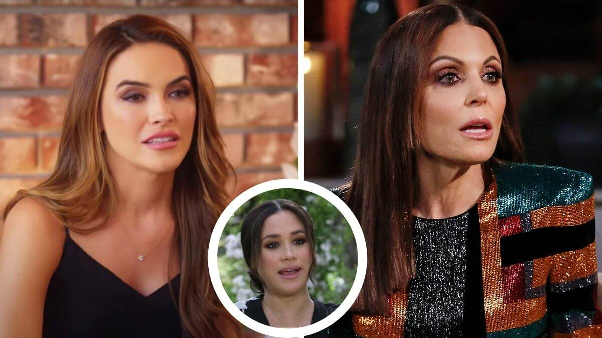 Chrishell Stause blasts Bethenny Frankel for Meghan Markle comments.