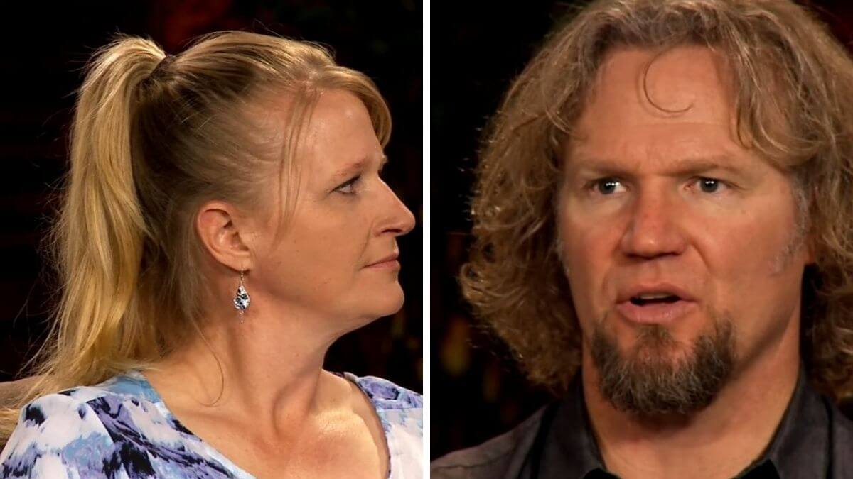Christine and Kody Brown of Sister Wives