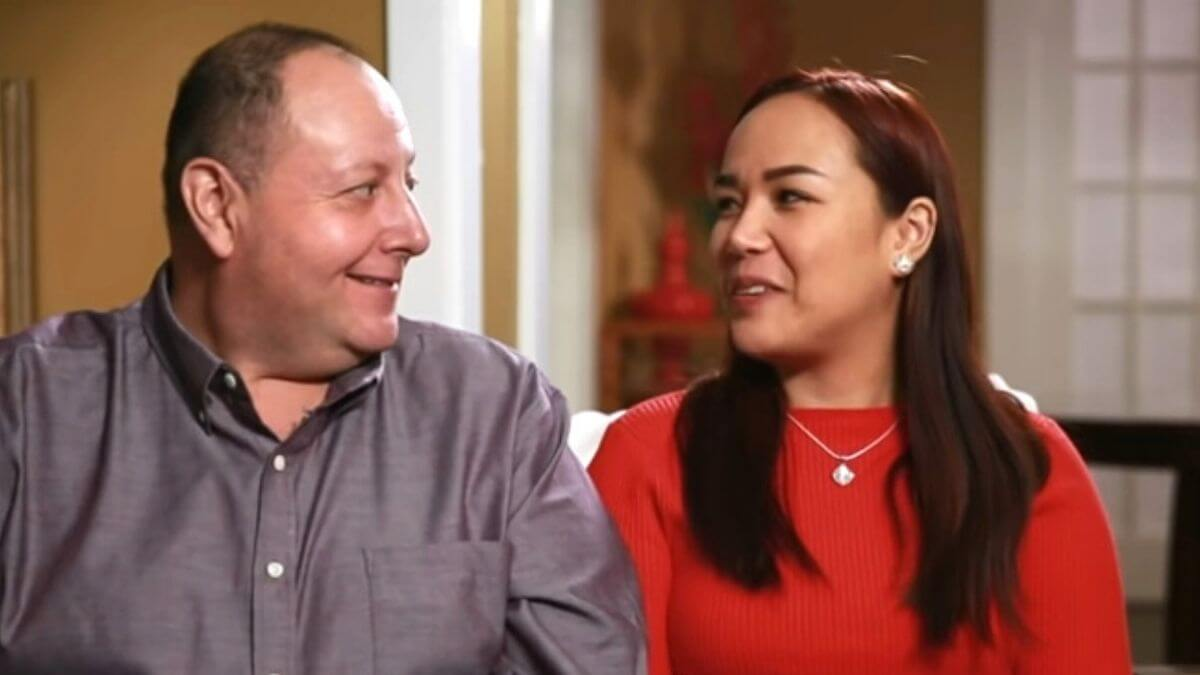 David and Annie Toborowsky from 90 Day Fiance