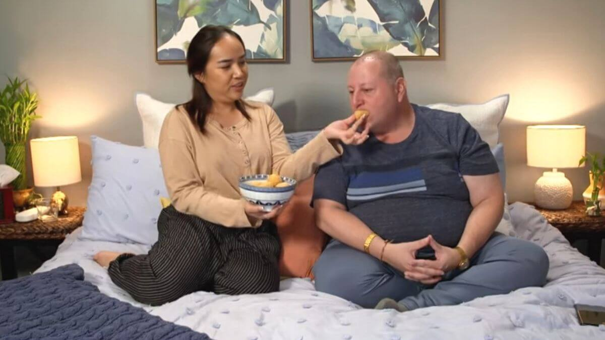 David and Annie on 90 Day Fiance: Pillow Talk