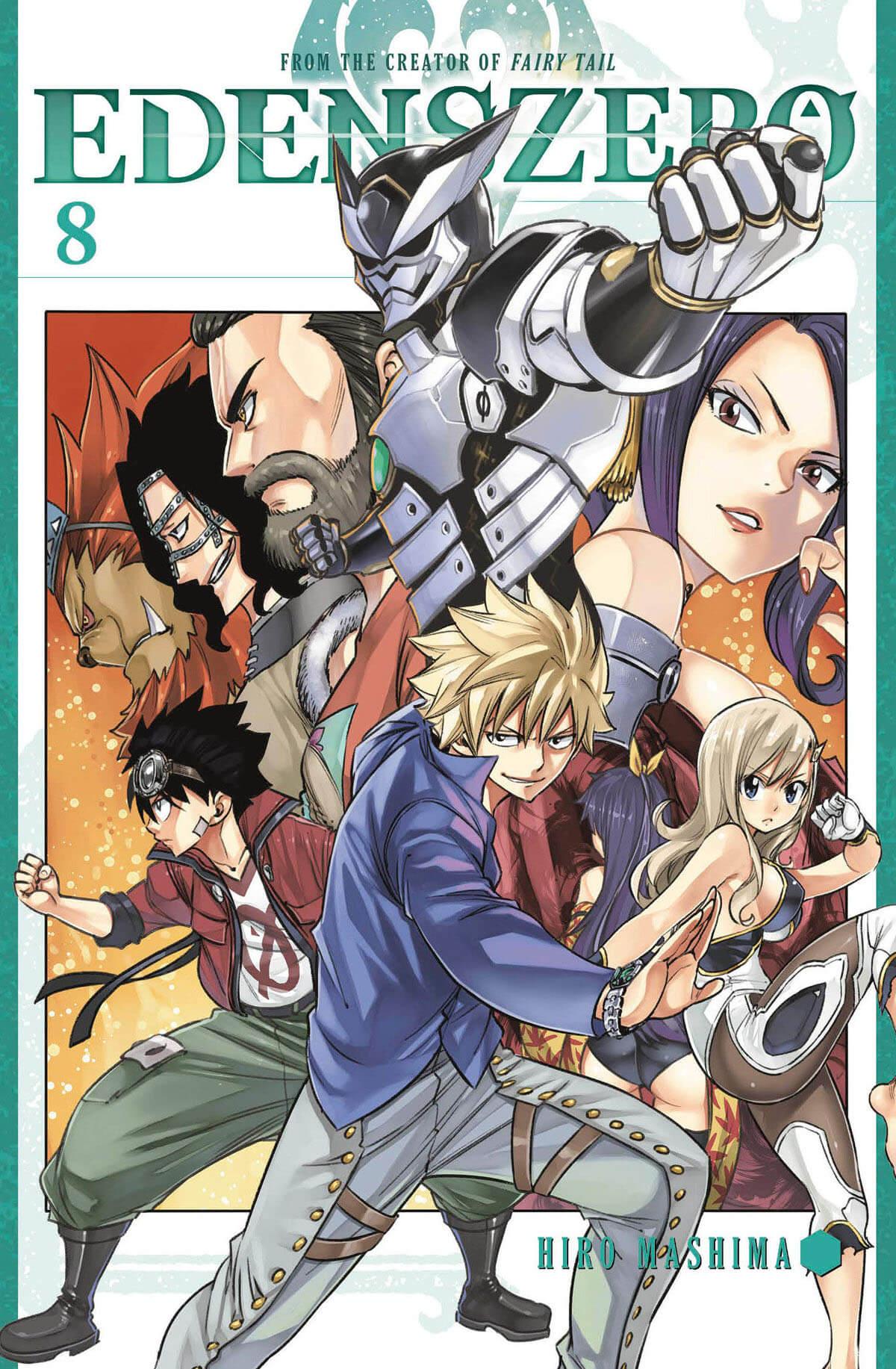 EDENS ZERO manga Volume 8 Cover