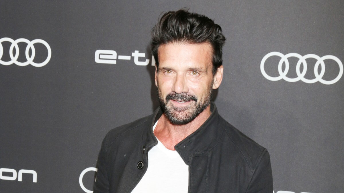 Frank Grillo on the red carpet
