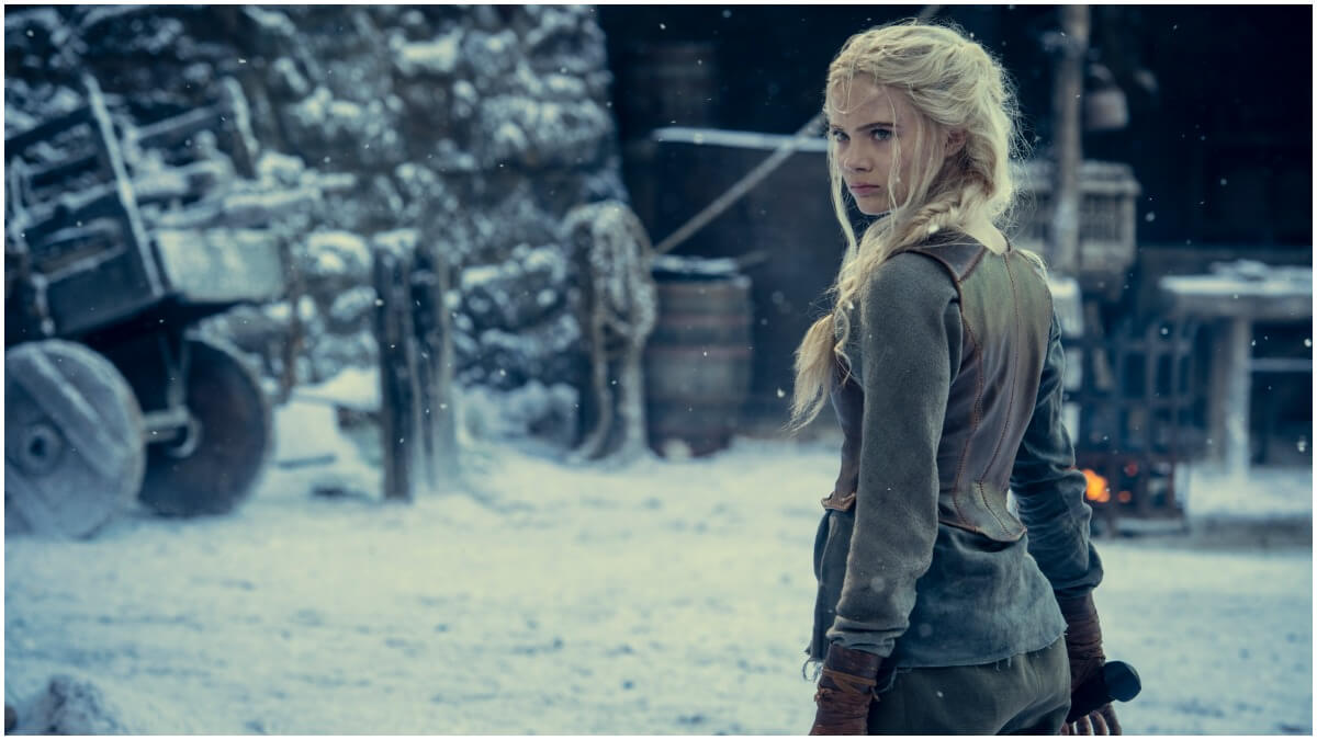 Freya Allan stars as Ciri, as seen in Season 2 of Netflix's The Witcher