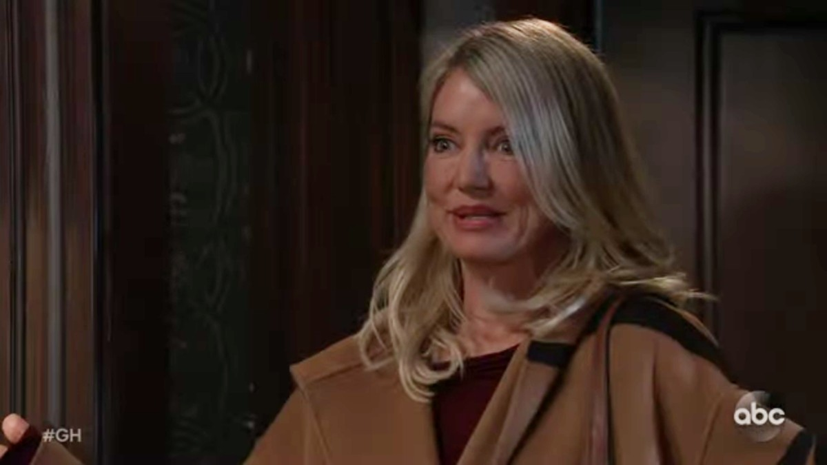 Cynthia Watros as Nina on General Hospital.