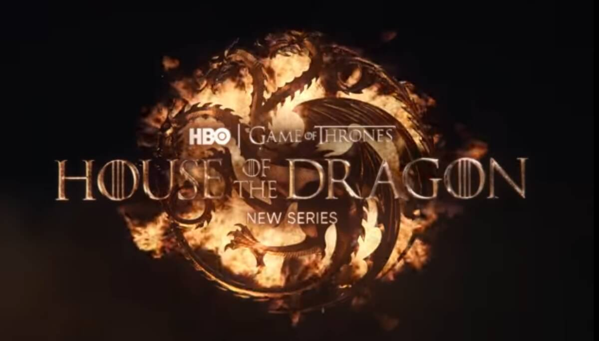 Logo for HBO's House of the Dragon