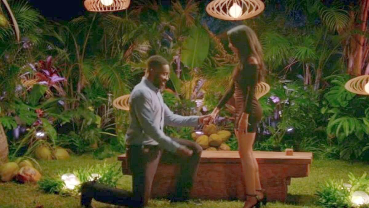 Javen's proposal for Shari on Season 1 of Temptation Island