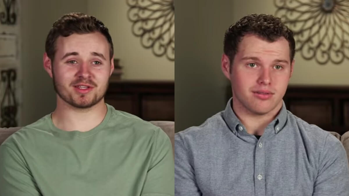 Jedidiah and Jeremiah Duggar in Counting On confessionals.