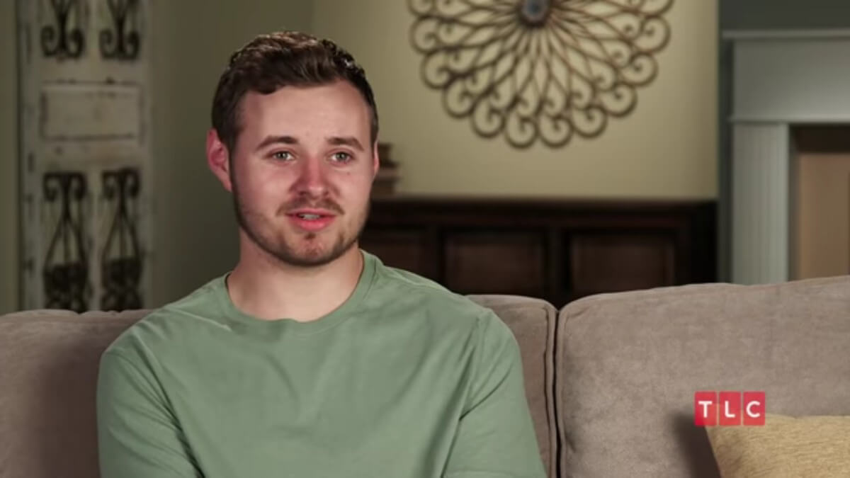 Jedidiah Duggar in a Counting On confessional