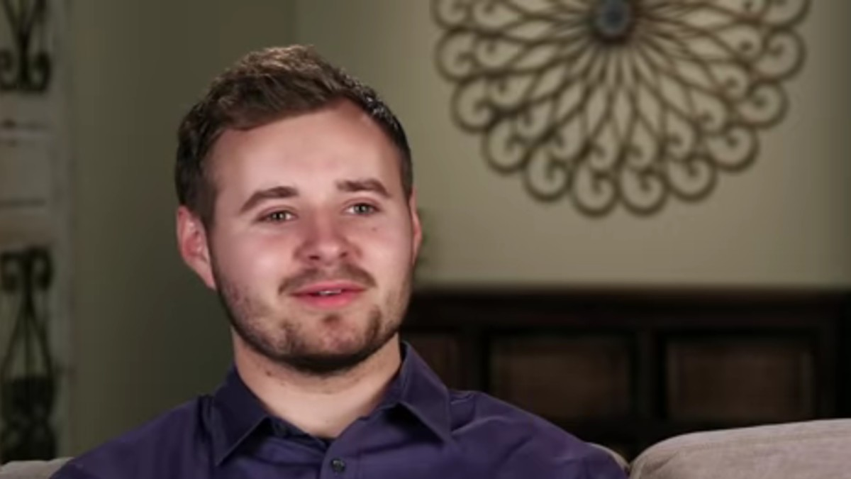 Jedidiah Duggar in a confessional on Counting On.