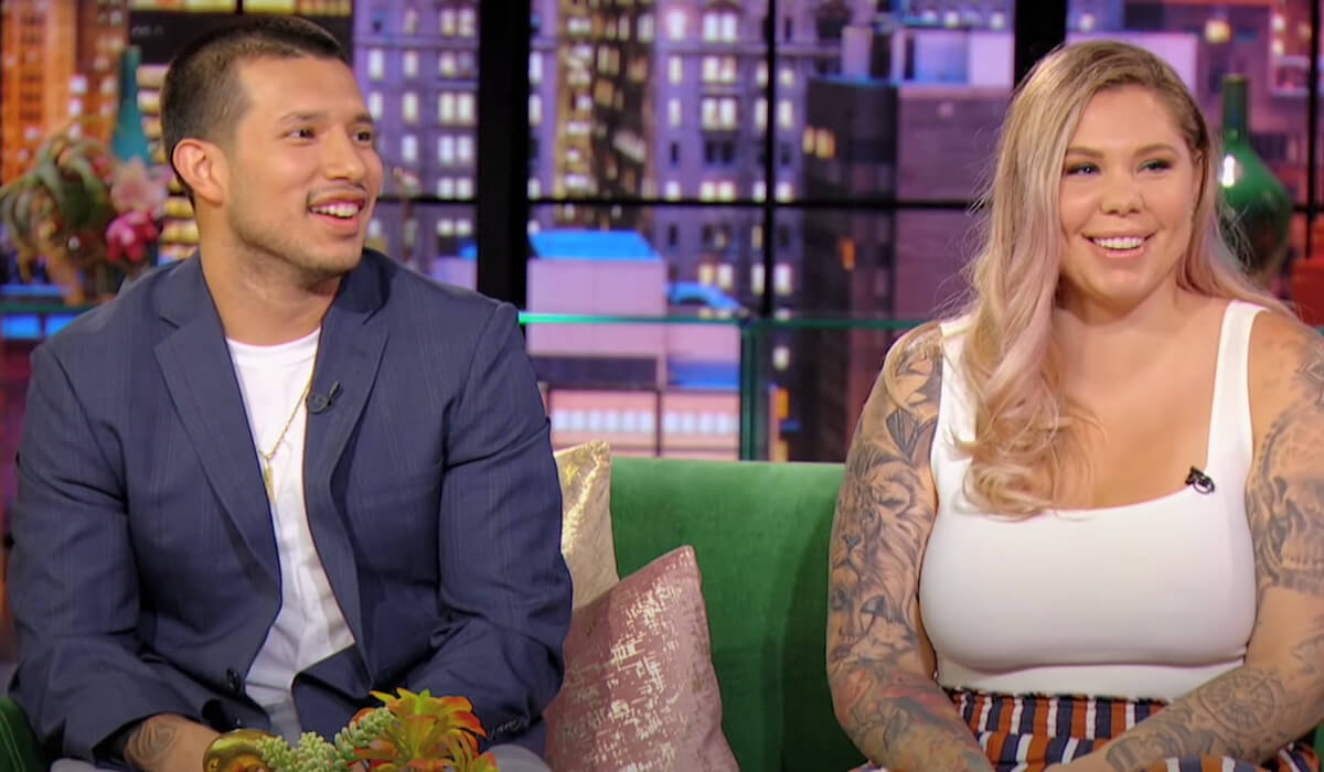 Javi and Kailyn admitting that they hooked up when they were supposed to be separated.