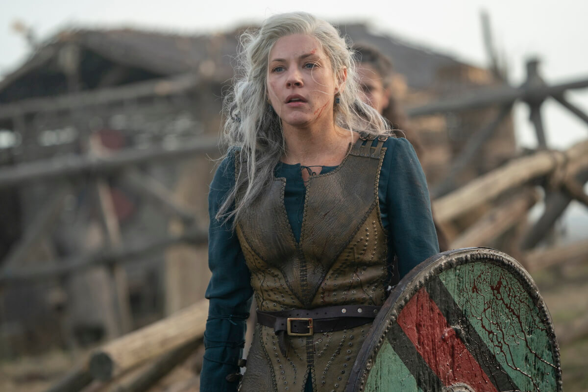 Katheryn Winnick stars as Lagertha, as seen in Season 6 of History Channel's Vikings