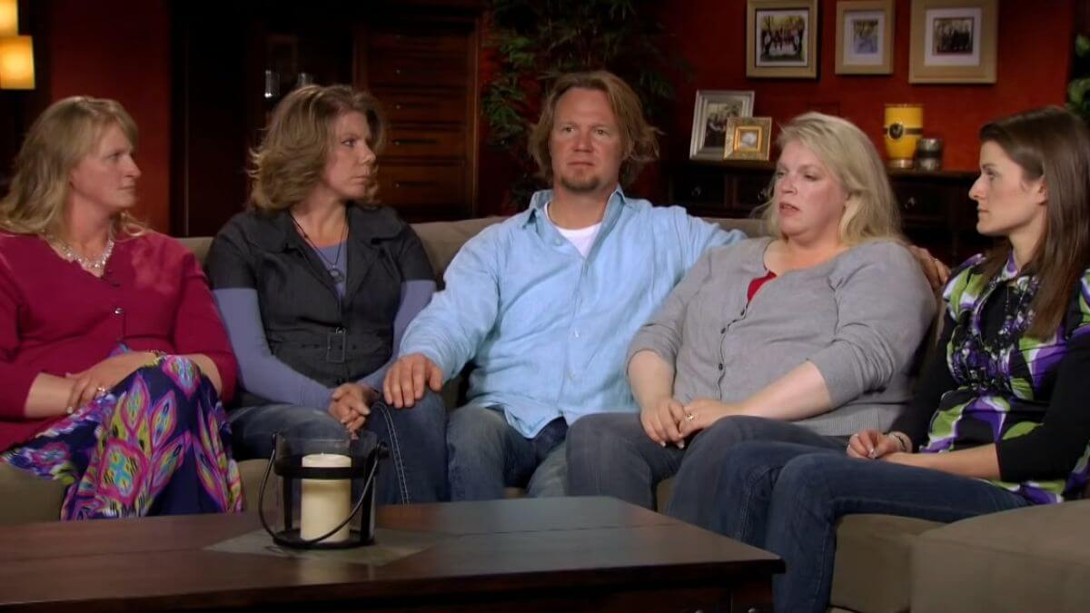 Kody Brown and his wives Christine, Meri, Janelle and Robyn of Sister Wives