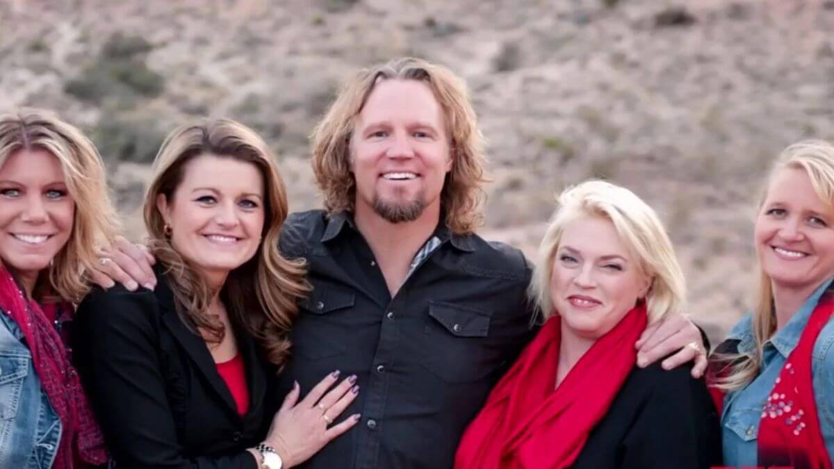 Sister Wives' Kody Brown and his wives, Meri, Robyn, Janelle, and Christine