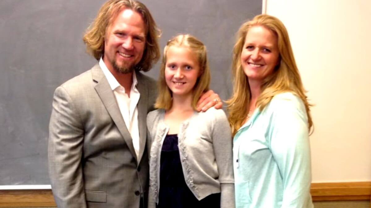 Kody, Ysabel and Christine Brown of Sister Wives