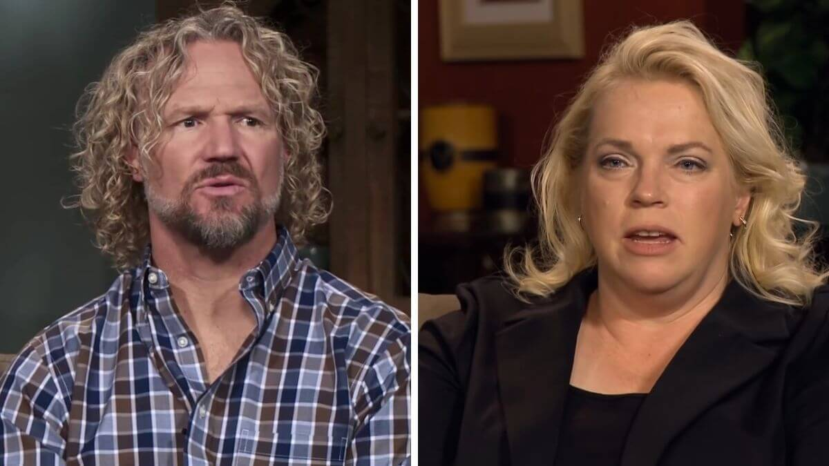 Kody and Janelle Brown of Sister Wives