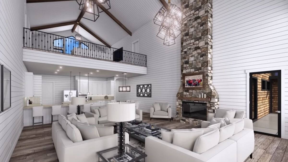 Kody Brown's one house design on Sister Wives