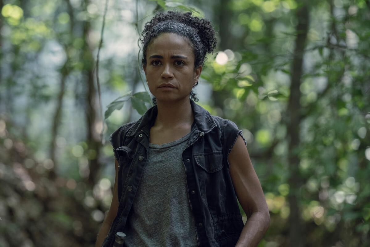 Lauren Ridloff stars as Connie, as seen in Episode 5 of AMC's The Walking Dead Season 10