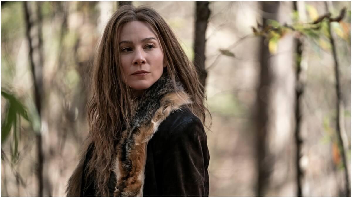 Lynn Collins stars as Leah, as seen in Episode 18 of AMC's The Walking Dead Season 10C