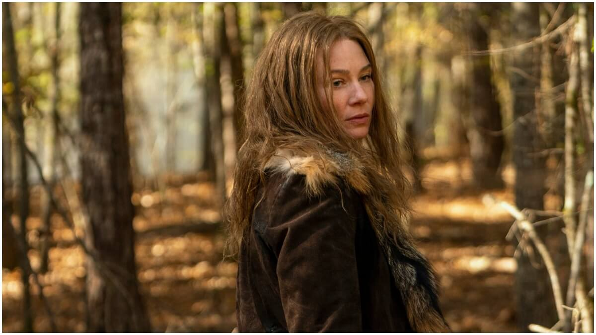 Lynn Collins stars as Leah, as seen in Episode 18 of AMC's The Walking Dead Season 10C