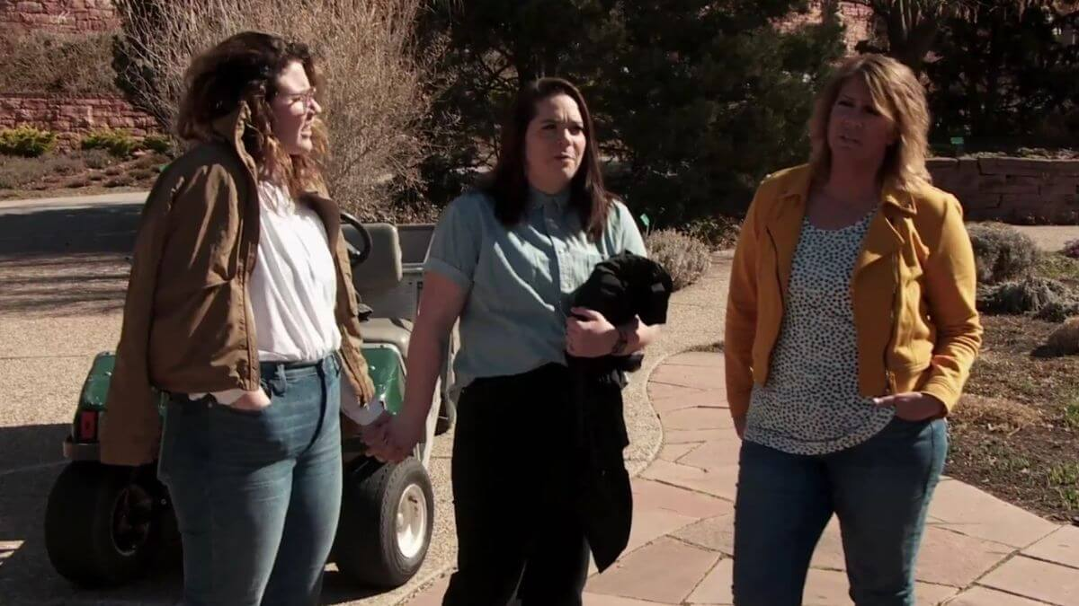 Mariah Brown, Audrey Kriss and Meri Brown of Sister Wives