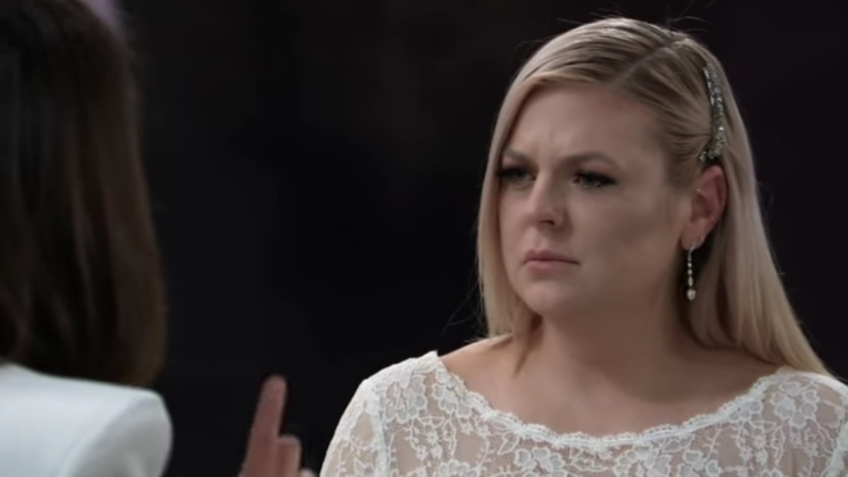 Kirsten Storms as Maxie on General Hospital.