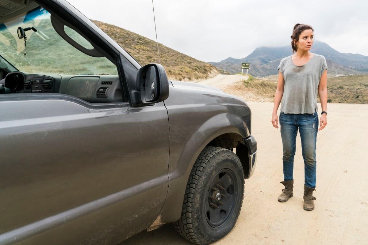 Mercedes Mason stars as Ofelia Salazar, as seen in Episode 12 of AMC's Fear the Walking Dead Season 2