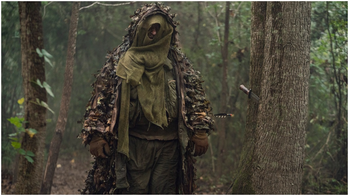 Mike S Whinnet stars as a Reaper in Episode 17 of AMC's The Walking Dead Season 10C