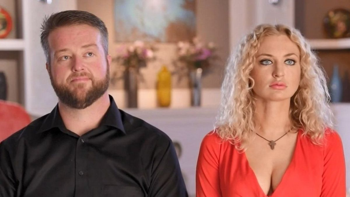 Mike and Natalie from 90 Day Fiancé are over.