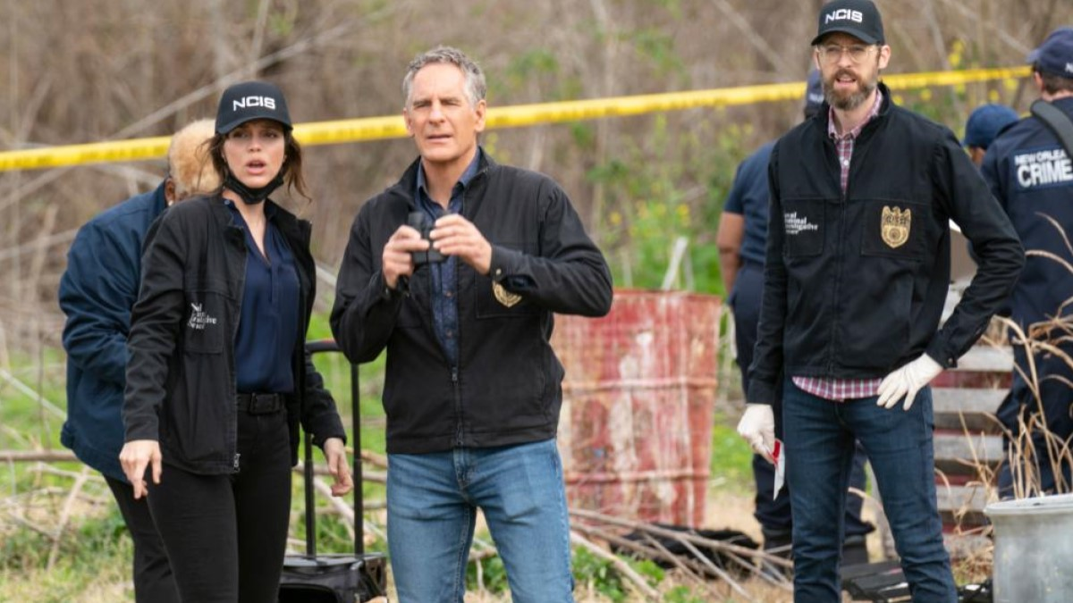 NCIS NOLA cast in Action