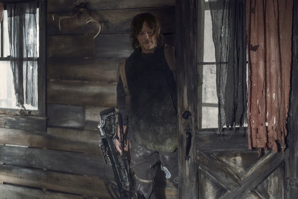 Norman Reedus stars as Daryl Dixon, as seen in Episode 18 of AMC's The Walking Dead Season 10C